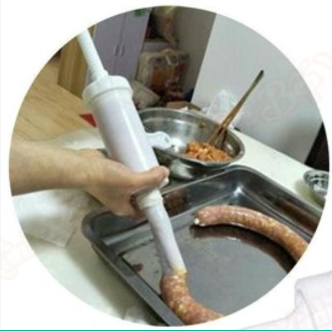 ống đùn xúc xích lạp xưởng bằng nhựa