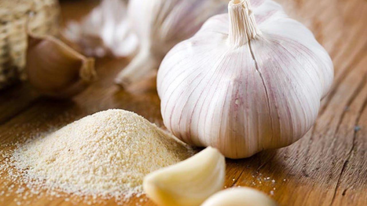 Bột tỏi nguyên chất - Bột tỏi khô 100% từ củ tỏi sấy khô siêu mịn